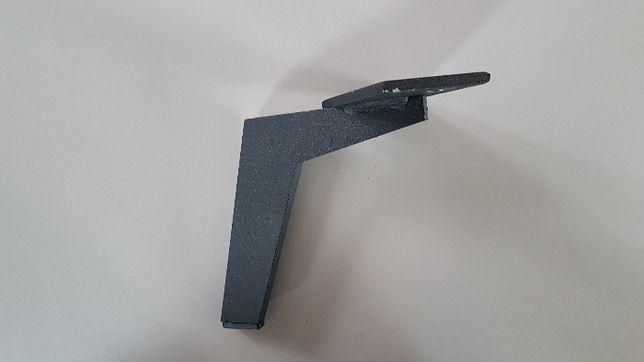 nóżki meblowe czarne metalowe