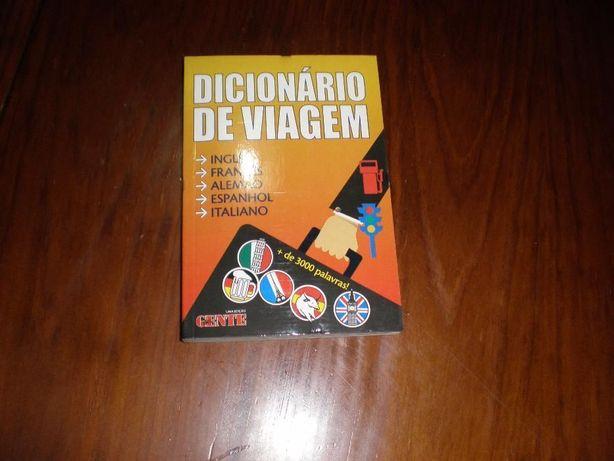 Dicionário de viagem várias línguas