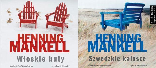 Henning Mankell Szwedzkie buty Włoskie Buty Audiobook MP3
