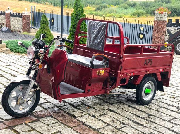 Pojazd elektryczny, trójkowiec APS BIKE 1200W