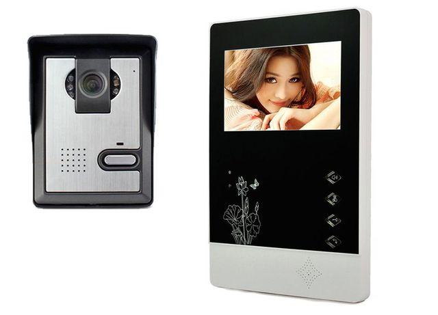 """video porteiro intercomunicador com fio com LCD monitor 4.3"""" ecran"""