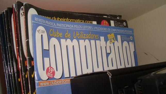 Vendo Todas revista Computador e Guia Internet.