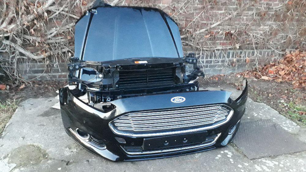 Ford Mondeo MK5 V Fusion Przód MASKA ZDERZAK PAS LAMPA Wzmocnienie