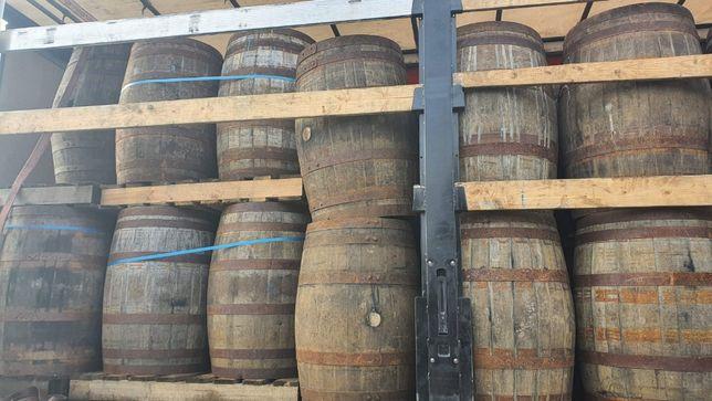 Beczka drewniana po whisky po winie dębowa szczelna solidna beczka