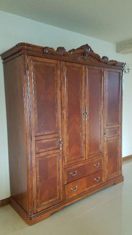 Szafa stylizowana drewniana