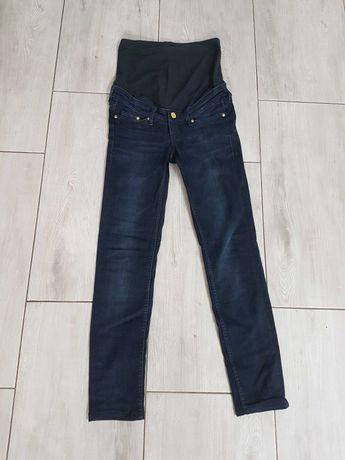 Jeansy ciążowe H&M rozmiar 32 skinny