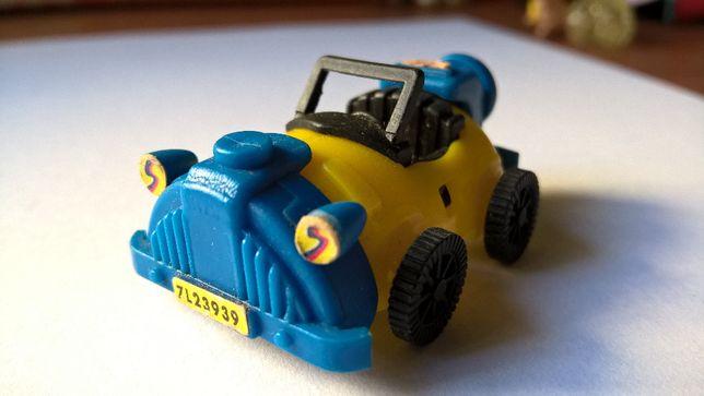 Carro Azul e amarelo (portes incluídos)