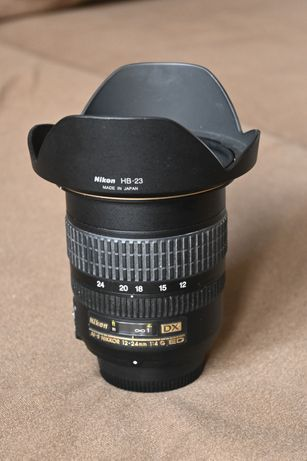 Nikkor AF-S 12-24 F4 Nikon OKAZJA!