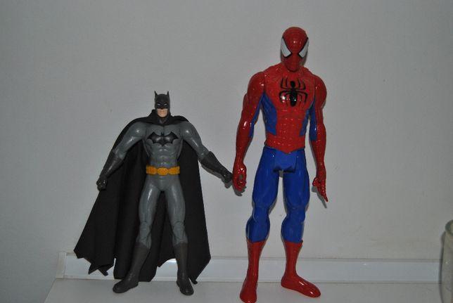 Batman i spiderman zabawki