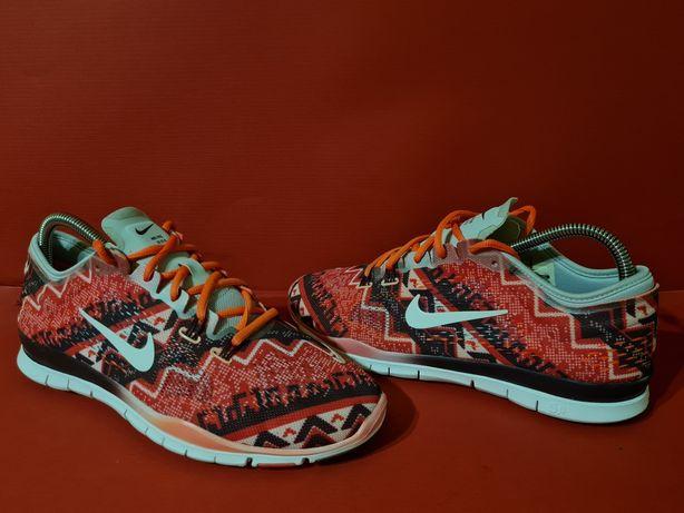 Nike free 5.0 tr fit 4 print 41р. 26.5см кроссовки беговые