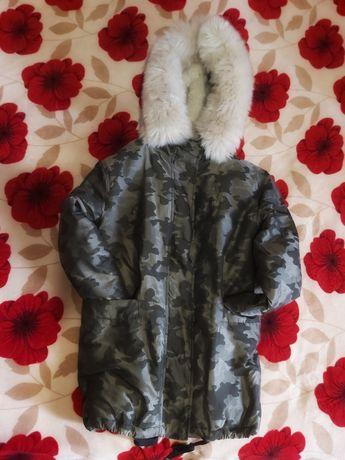 Куртка осень-зима 44р