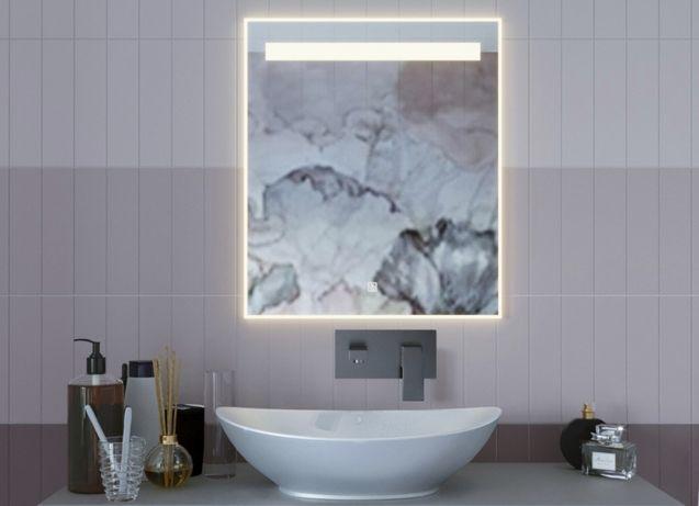 OUTLET Lustro LED SOLAS 60x60 cm