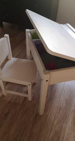 Biurko Sundvik z krzesełkiem Ikea