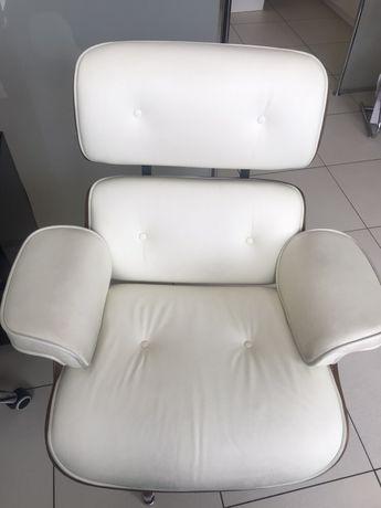 Skórzany fotel Longue