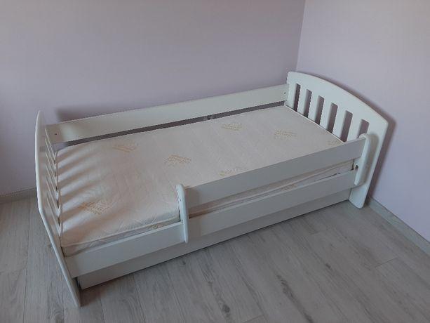 Dziecięce łóżko drewniane 160x80 plus materac gratis