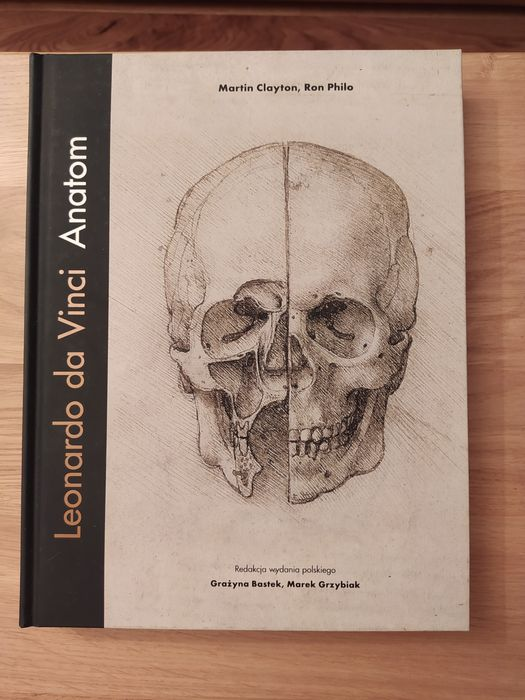 Książka 'Leonardo da Vinci Anatom' Łódź - image 1