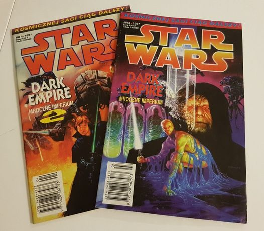 Star Wars Tm-Semic Komiks 2 numery 3/97 i 4/97, stan BDB+
