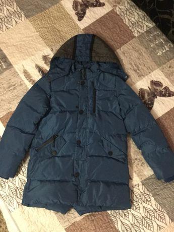 Чудова Зимова куртка-теплий Пуховик,подовжений