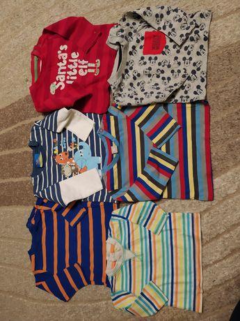 Bluzeczki niemowlęce  56-62