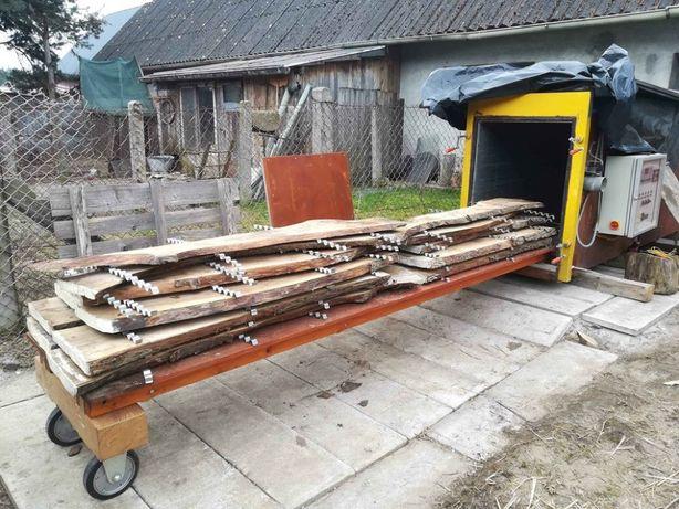 oferuję suszenie drewna w suszarni