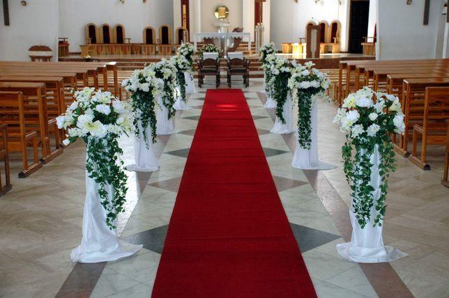 Statyw, stojak na kwiaty, do dekoracji kościoła, sali, metalowy
