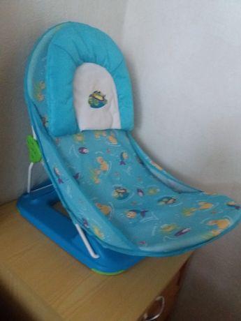 Горка-шезлонг/кресло для купания малышей