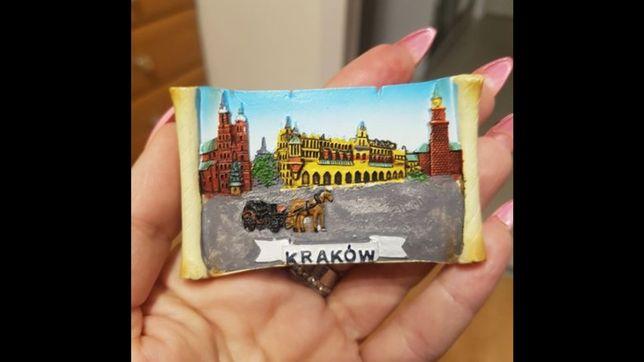 Śliczny nowy magnes na lodówkę Kraków