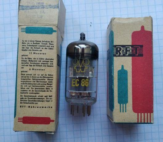 Продам радиолампы EC86 RFT NOS.