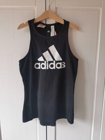 Bluzka t-shirt Adidas dla dziewczynki 11 12 lat 152 jak nowa