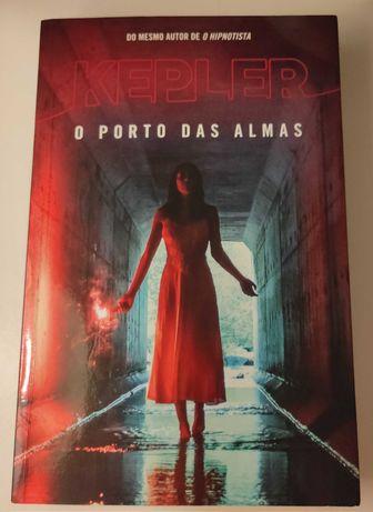"Livro - ""O Porto das Almas"" de Lars Kepler"
