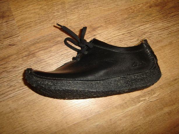 Супермодные кожаные ботинки Clarks (Кларкс), стелька 23, реально на 35