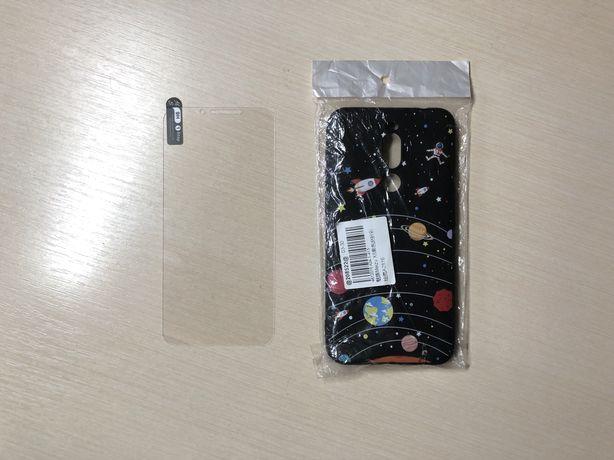 Захисне скло та чохол на смартфон Meizu X8 | чехол на телефон Мейзу X8