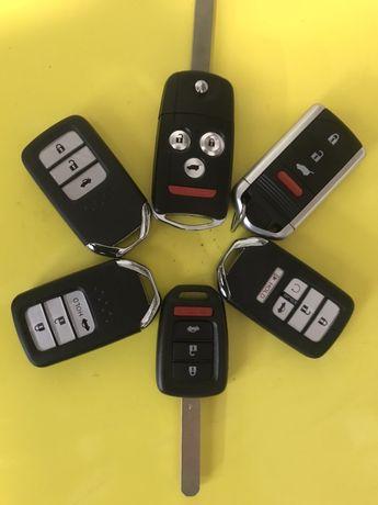 Ремонт авто-замков,изготовление авто-ключей