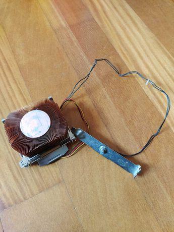 Cooler master com dissipador em cobre