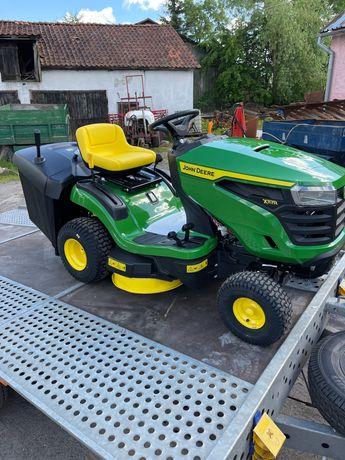 Kosiarka Traktorek John Deere 117R Briggs 18,5 hp Kosz 300 L