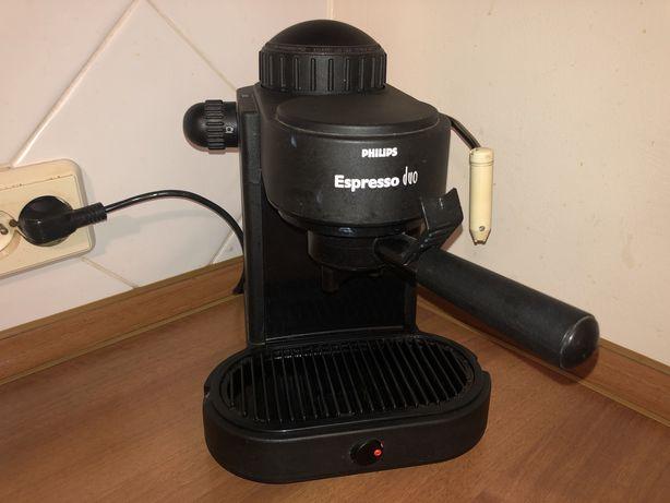 Ekspres ciśnieniowy do kawy - Philips Espresso Duo