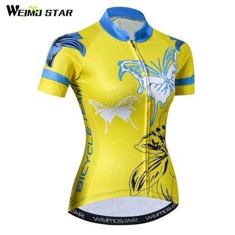 Koszulka rowerowa damska termoaktywna nowa