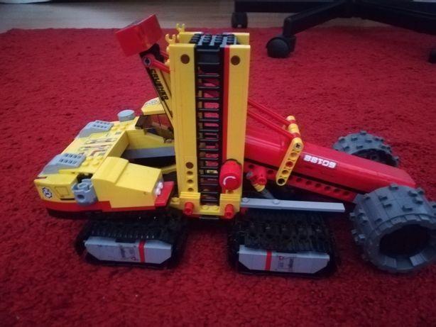 Escavadora de lego