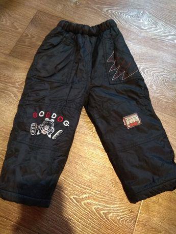 Зимние теплые плащевые штаны! Меховые штанишки для сада! Обмен