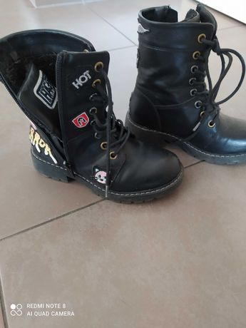 Buty rozmiar 31 czarne