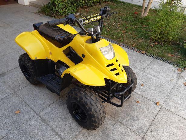 Mini moto4 crianca motor 50cc a 4T
