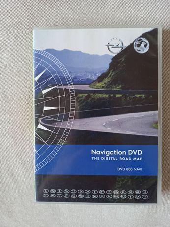 Mapa Opel Navigation DVD 800 Navi