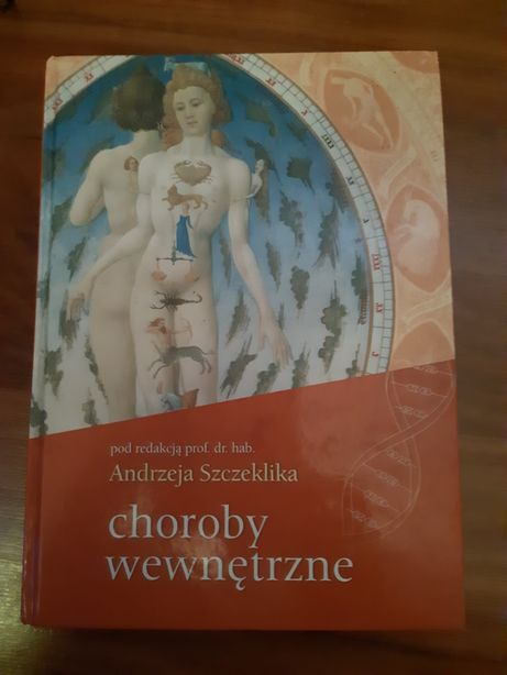 Książka Choroby wewnętrzne A. Szczeklik