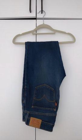 Dżinsy jeansy Levi's model prosty 714 Straight