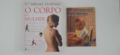"""Livros """"O Corpo da Mulher"""" e """"A Cozinha do Bebé"""""""