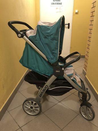 Spacerówka / wózek Chicco Bravo sprzedam / Nosidełko Keyfit 30