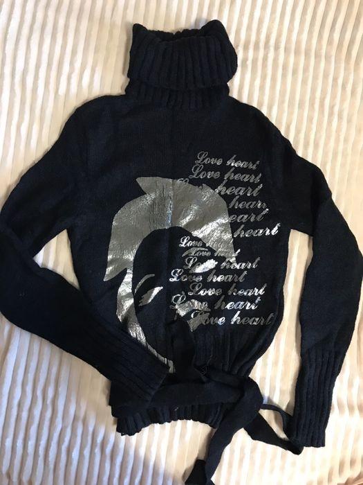 Теплый зимний свитер под горло Николаев Жовтневый - изображение 1