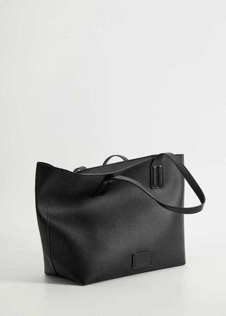 Сумка шоппер Манго новая черная оригинал