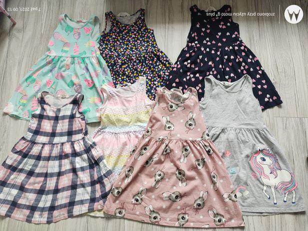 Sukienki H&M r.110/116