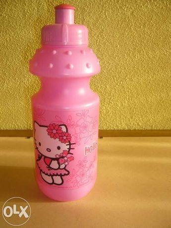 Garrafa reutilizável Hello Kitty